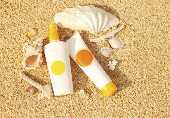 توصیههای مراقبت از پوست-مصرف کرم ضد آفتاب