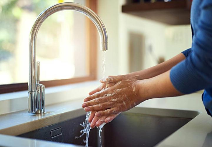 شستشوی دستها - مسمومیت غذایی