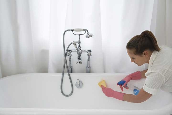 برنامه ریزی کارهای روزانه منزل - نظافت حمام