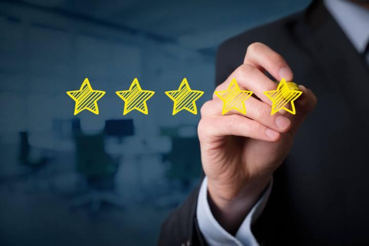 اعتماد به برند - شهادت مشتریان و امتیازهایی که مشتریان به برند شما داده اند