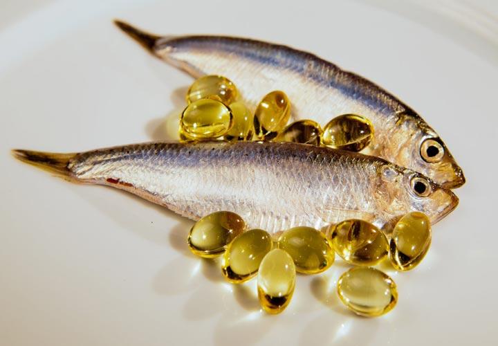روغن ماهی - افتادگی پوست