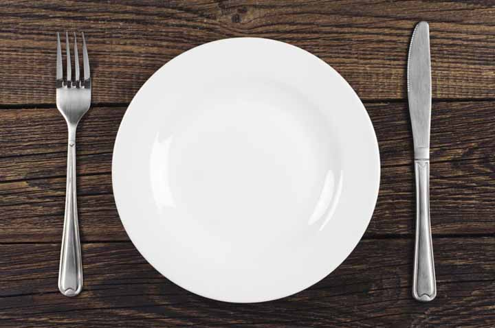 مک کردن حجم غذا - لاغری آسان
