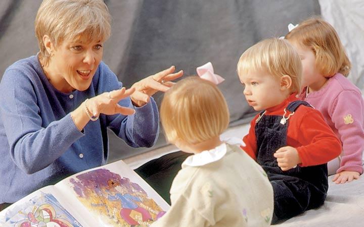 ادای شخصیتها را در بیاورید - کتابخوانی کودکان