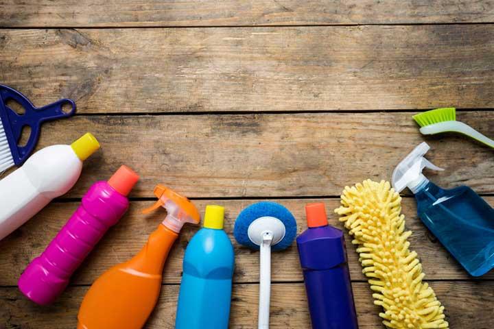 برنامه ریزی کارهای روزانه منزل - وسایل نظافت