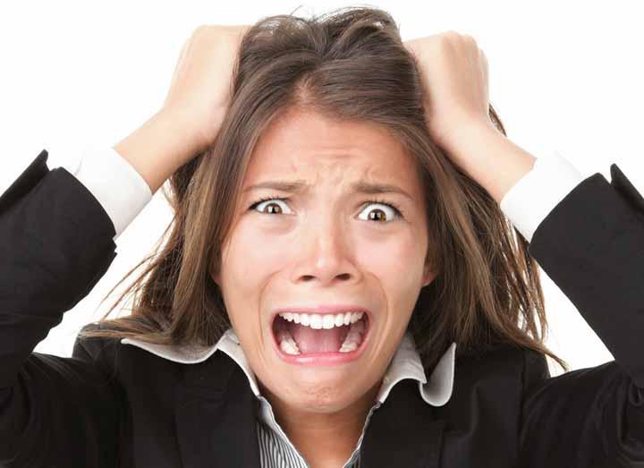 استرس و فشارهای خارجی - تفاوت استرس و اضطراب