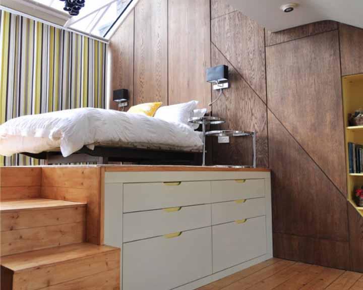 استفاده از کمد و قفسه در اتاق نوجوان
