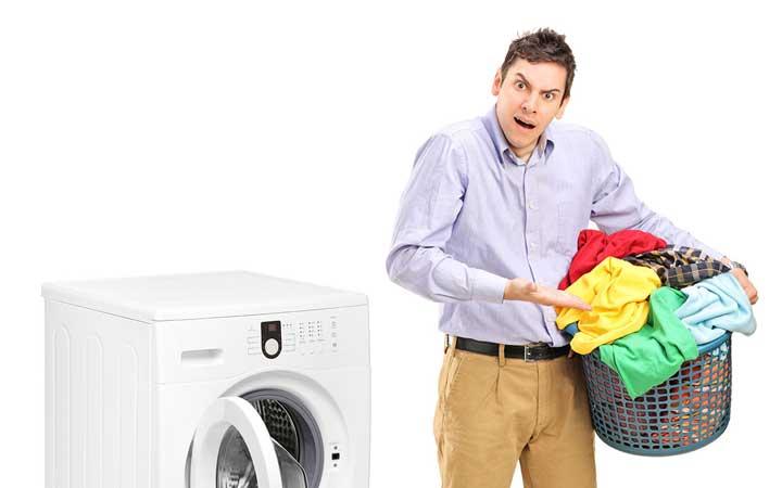 برنامه ریزی کارهای روزانه منزل - شستن لباس ها