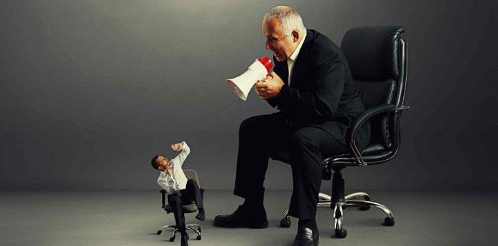 محیط کاری سمی - مدیران قلدر
