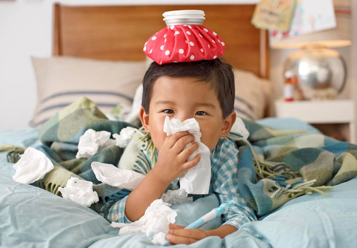 آنفولانزا در بچههای کوچک