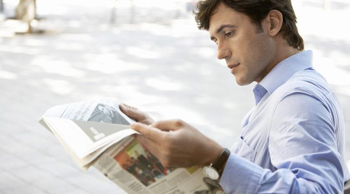 شهروند خوب - روزنامه خواندن
