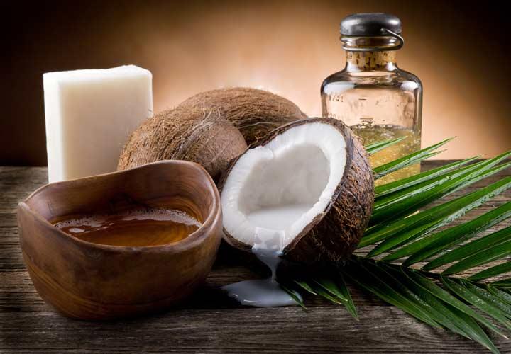 استفاده از روغن نارگیل به جای برخی چربی ها به جربی سوزی شکم کمک می کند.