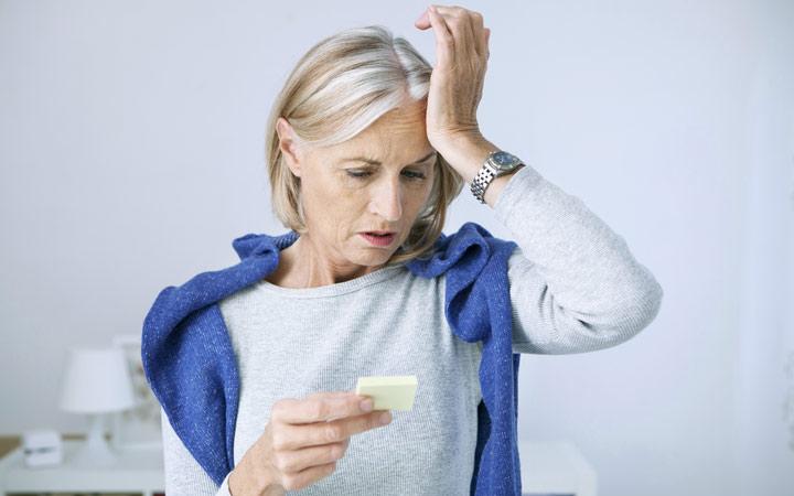 اختلال در حافظه - علائم آلزایمر