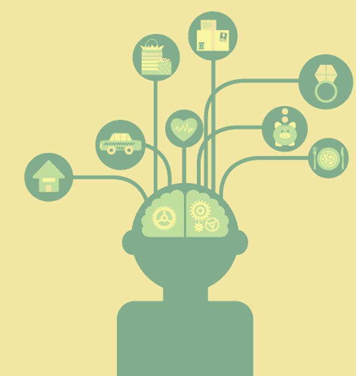 حسابداری ذهنی - هریک از دسته های ذهنی حساب ذهنی متفاوتی دارند.