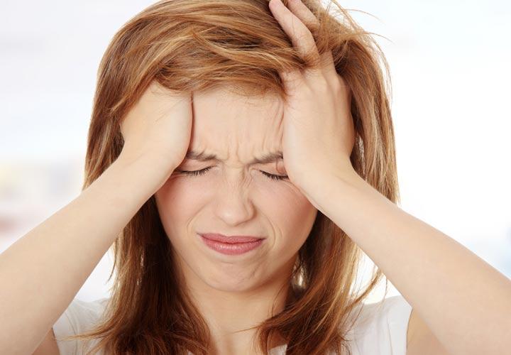 سردرد - عوارض قرص ضدبارداری