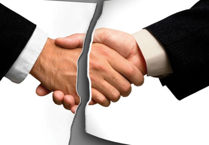 فسخ قرارداد نمایندگی فروش