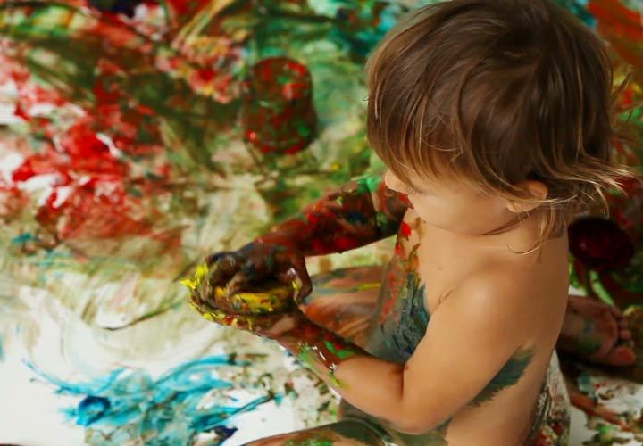 تفکر خلاق در کودکان - کارهای هنری