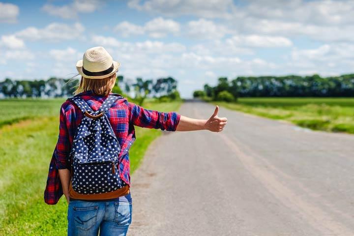 چگونه ارزان سفر کنیم - هیچهایک در سفر جادهای