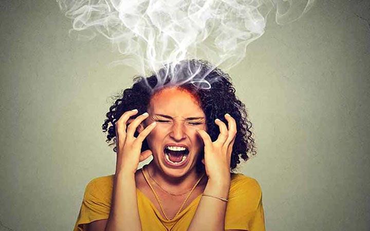 عصبانیت - راحت نبودن