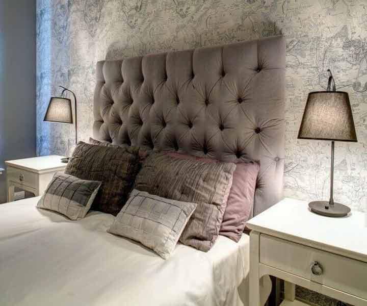 توجه به سایزها - تزیین اتاق خواب با وسایل ساده