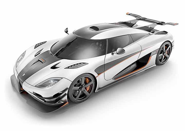 ماشین های خاص - سریعترین کونیگزگ