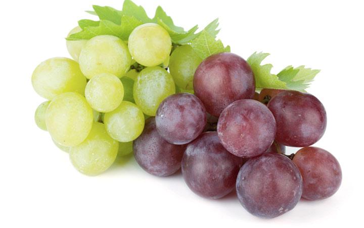 انگور قرمز و بنفش برای کبد عالی هستند