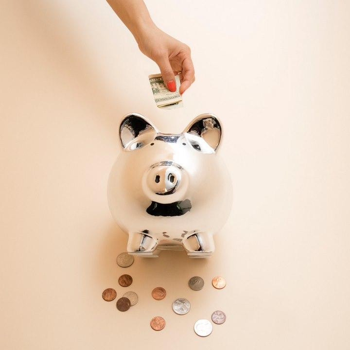 قلک پس انداز - پس انداز پول