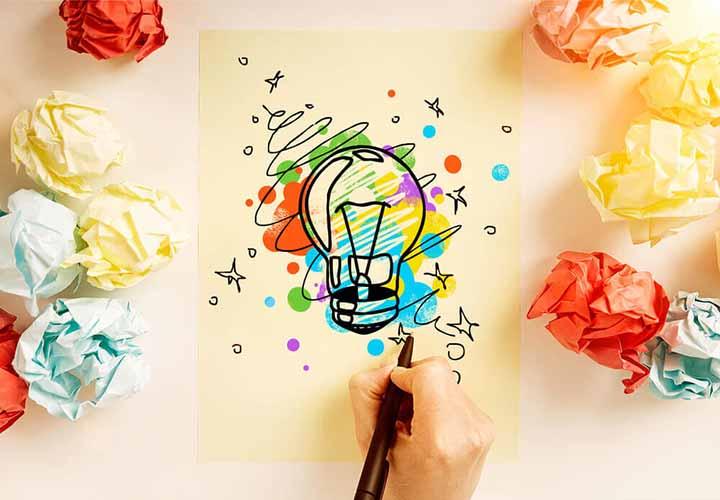 لامپ خلاقیت - شکوفا شدن خلاقیت