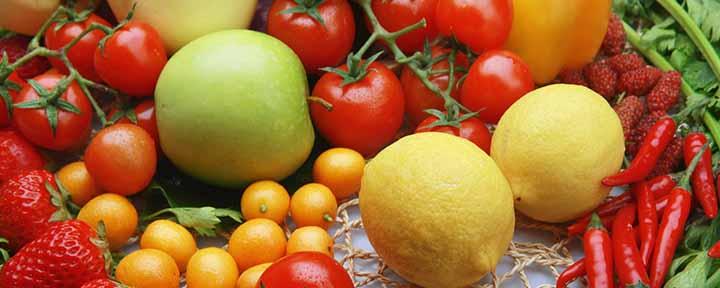 میوههای مختلف