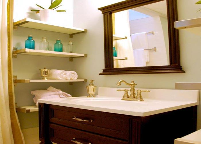 دکوراسیون خانه های کوچک - حمام