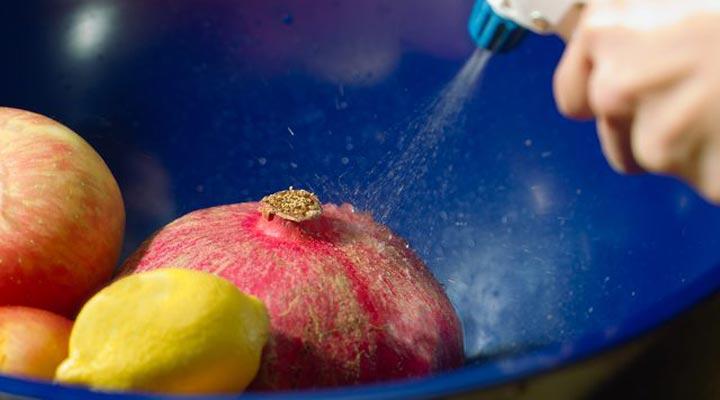 شستن سبزی - مرحلهی ۲