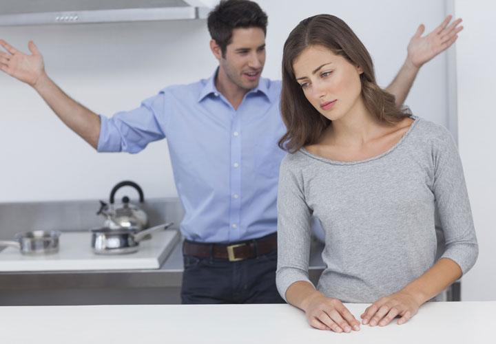 احساس ترس در هنگام دعوا