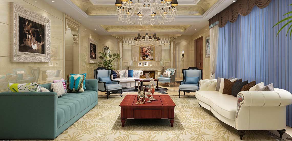 Luxury Ideas For Lavish Living Room Style: طراحی دکوراسیون پذیرایی با توصیههایی ساده اما شیک