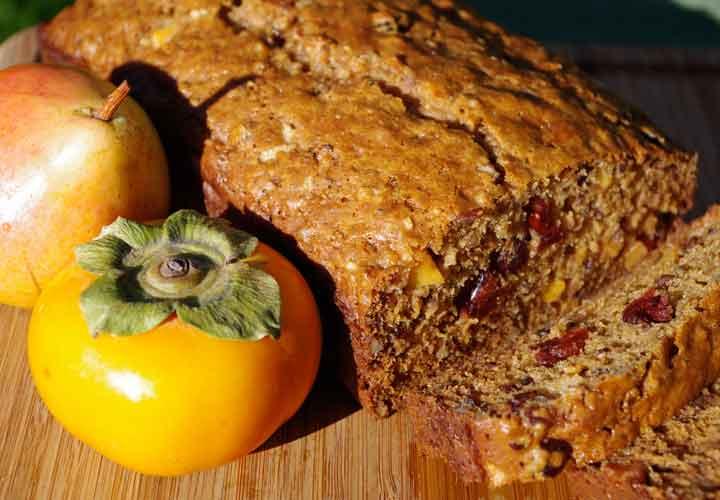 خواص خرمالو - نان خرمالو غذایی ساده و مفید است.