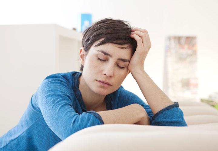 خستگی - غم ازدست دادن