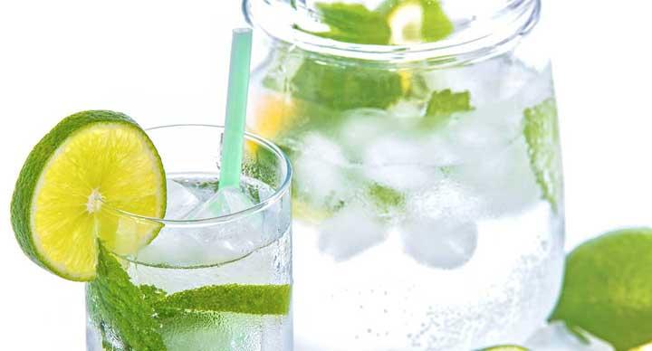 طعم دار کردن آب با افزایش لیمو