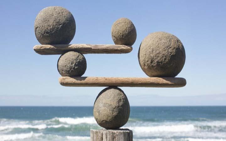 سنگ متعادل