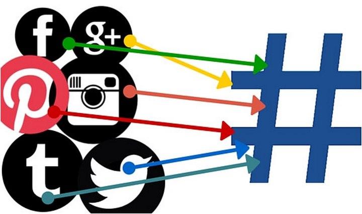هشتگ ها در شبکه های اجتماعی