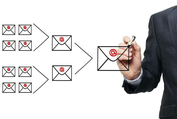 فروش سازمانی - راه اندازی کمپین های ایمیلی