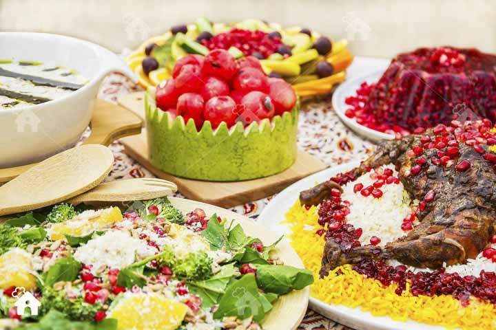 خوراکیهای شب یلدا - مامان پز