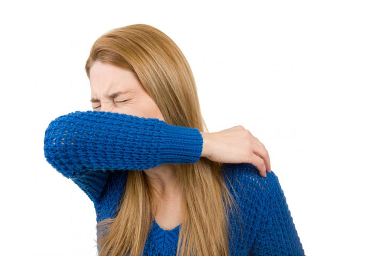 روش درست عطسه یا سرفه - پیشگیری از سرماخوردگی