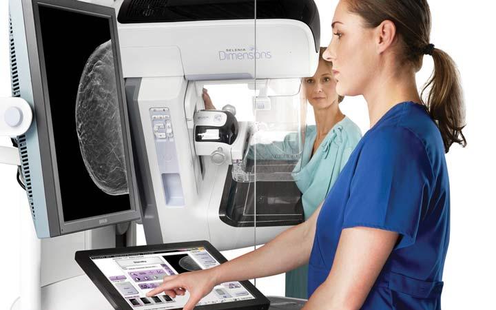 ماموگرافی - برای ماموگرافی به مراکز تخصصی مراجعه کنید