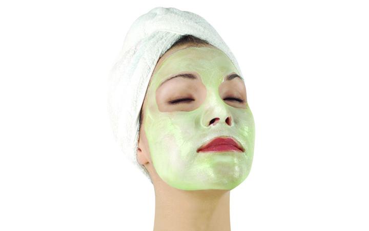 ماسک خیار - روش استفاده از ماسک