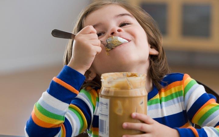 کره بادام زمینی - حساسیت به بادام زمینی