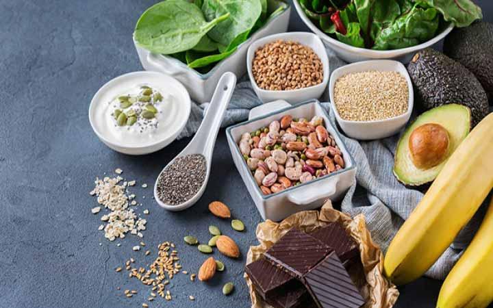 درمان سردرد - مواد غذایی حاوی منیزیم