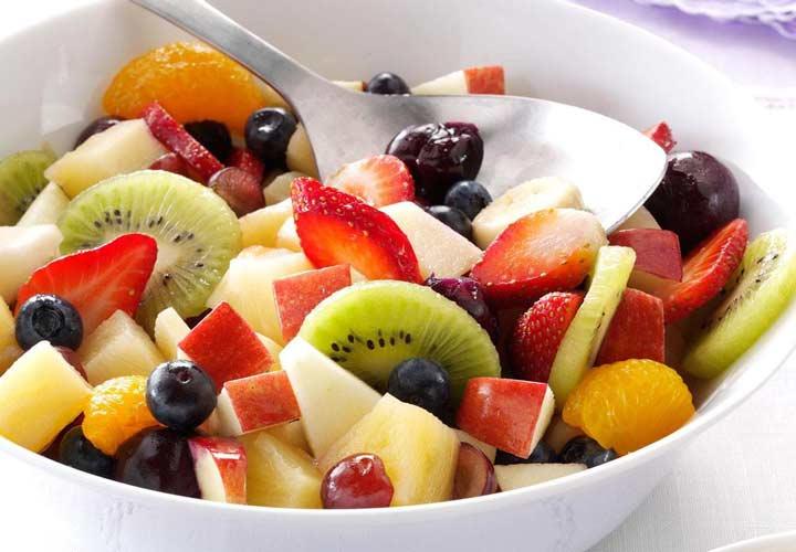 مصرف میوه ها میل شما به شیرینیجات را کمتر میکند.