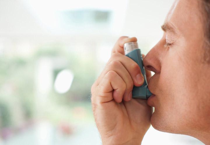 اسپری تنفسی - آسم