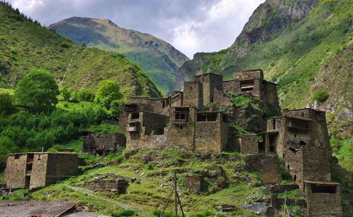 جاهای دیدنی گرجستان شاتیلی خوسورتی Shatili Khevsureti