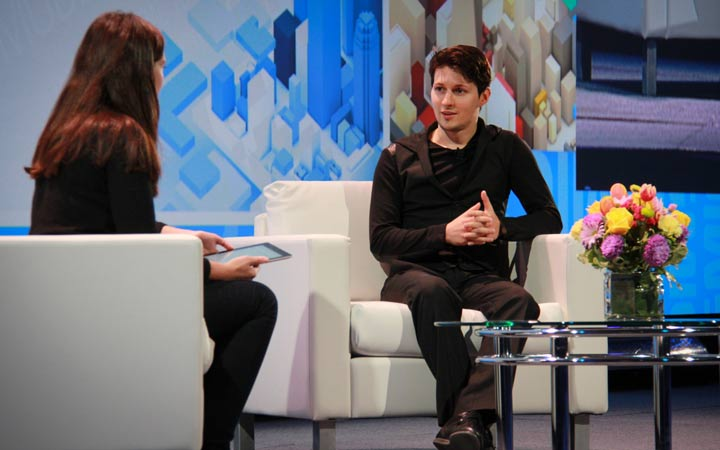 پاول دورف - پاسخ به منتقدان تلگرام