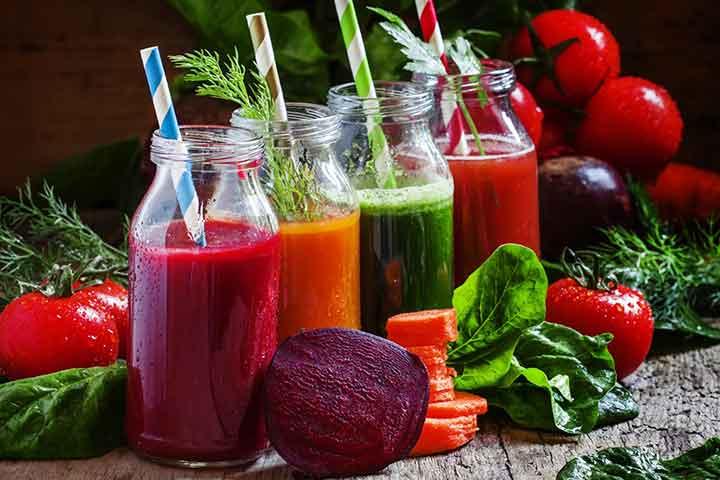 عصاره میوه و سبزی