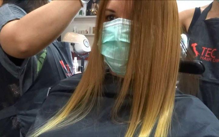 مضرات کراتینه کردن - کراتینه کردن مو
